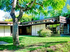 Schindler House in West Hollywood