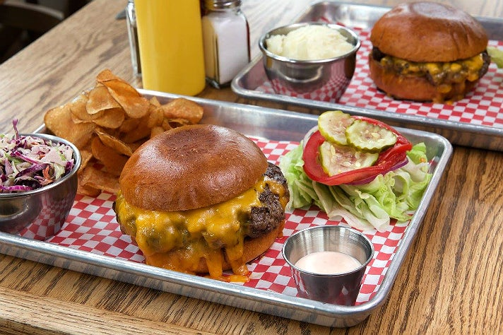 Cassell's Hamburgers for two