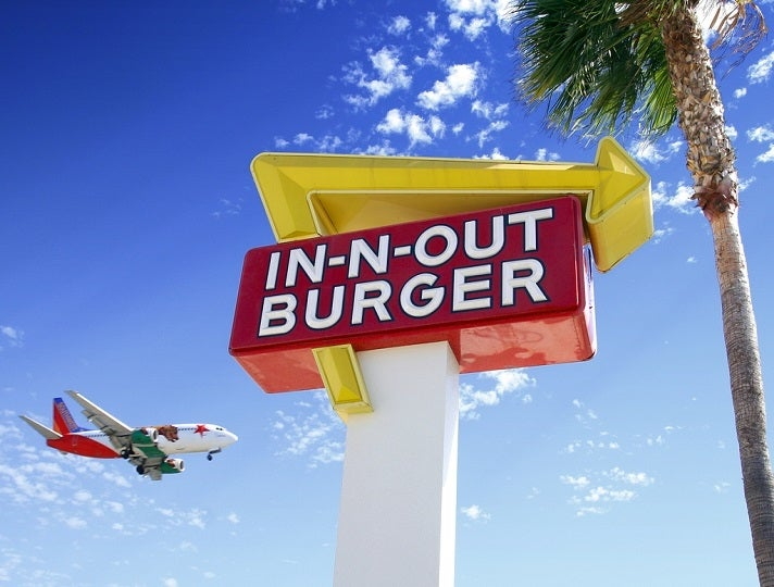 In-N-Out Burger near LAX