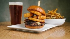 Pono Burger with Beer