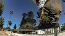 Andrew Nieto at Hollenbeck Skate Plaza