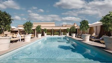Rooftop pool at Montage Beverly Hills