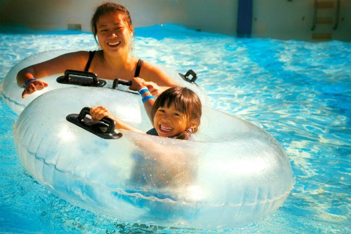 Wave Cove at Raging Waters Los Angeles