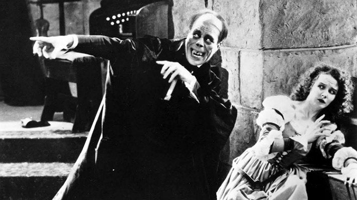 """The Phantom of the Opera"" (1925) starring Lon Chaney and Mary Philbin"