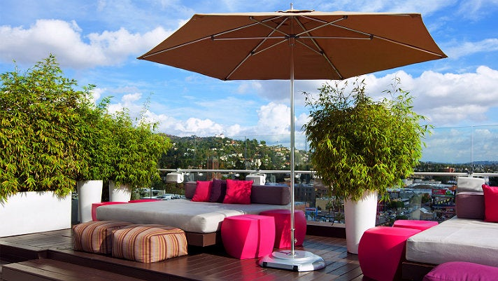 WET Deck at W Hollywood Hotel