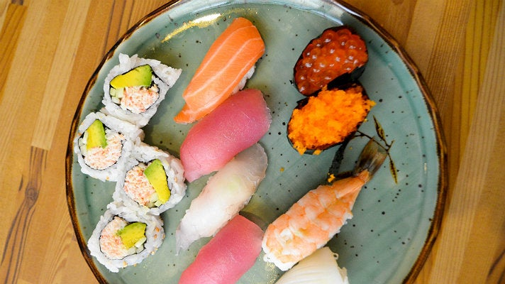 Hama Sushi in Downtown L.A.