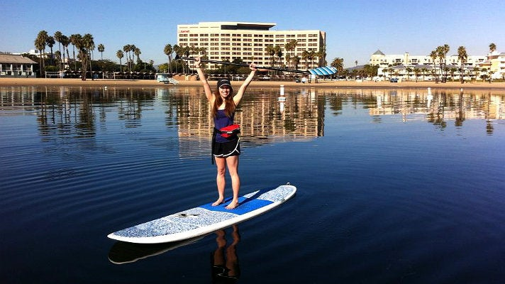 Phins Water Sports Club paddleboarder