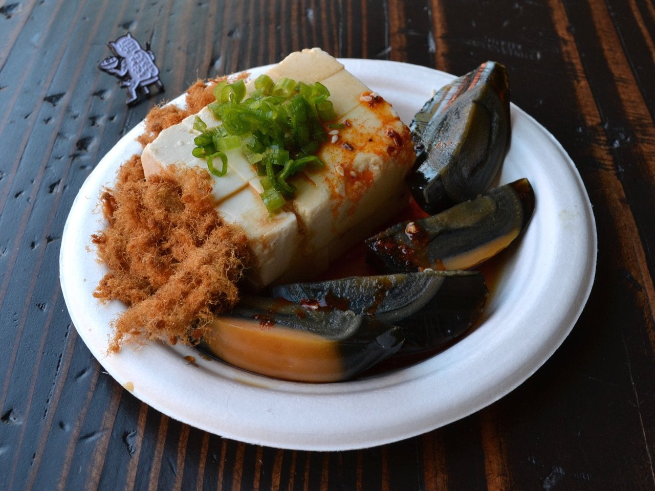 Tofu Century Egg at Lao Tao